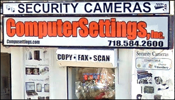 Computer Settings, Inc. 2246 Grand Concourse Bronx, NY 10457