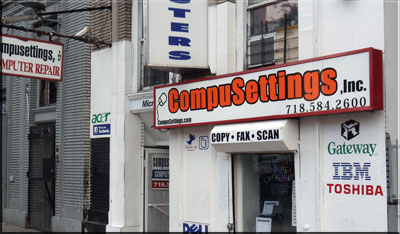 Computer Repair Service Compusettings , Inc. 2246 Grand Concourse Bronx , NY 10457
