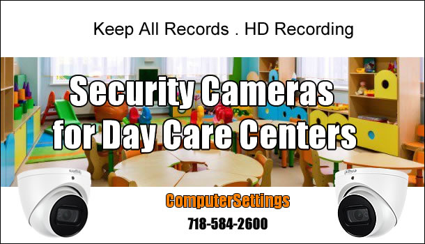 Security Camera for Day Care