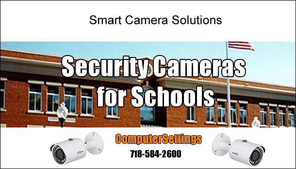 Security Camera Installation Service for Schools